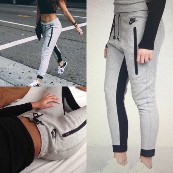 Nike tech fleece track jogger skinny sweatpants EUC! No defects. Size women's XL. Ankle length. Hard to find style. From a smoke free home. OFFERS WELCOME Nike Pants Track Pants & Joggers