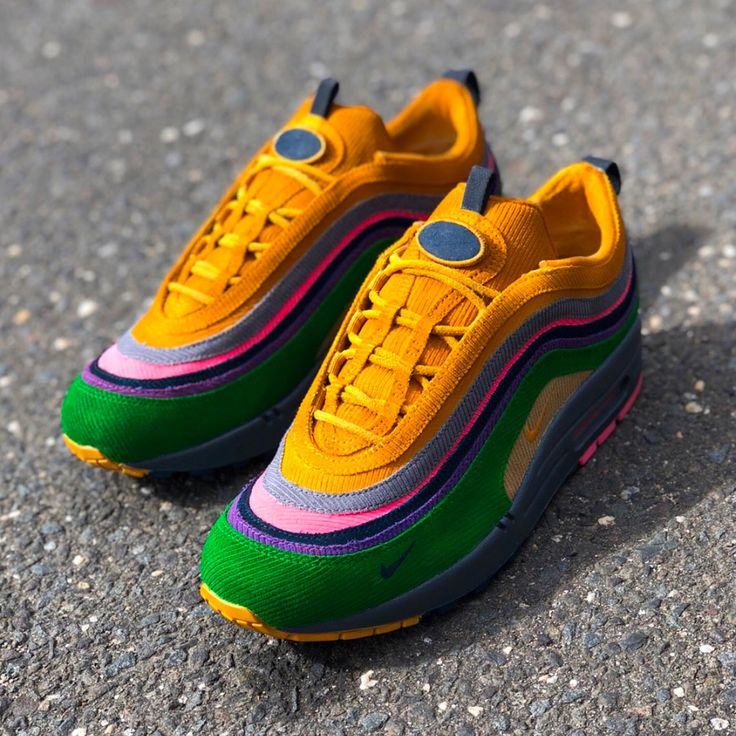 Sean Wotherspoons Nike Air Max 97/1 Transformed Into Eclipse By Mache  Customs