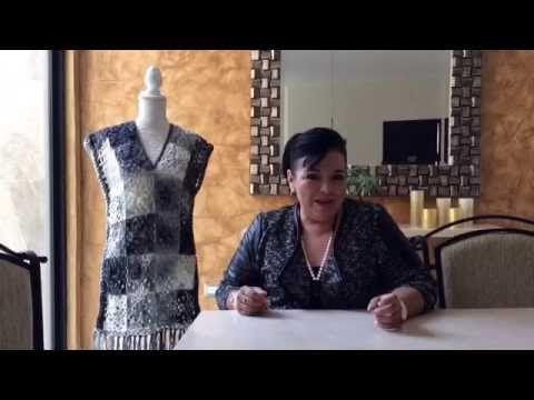 Chaleco Susy fácil y rápido tejido en gancho - tejiendo con Laura Cepeda - YouTube