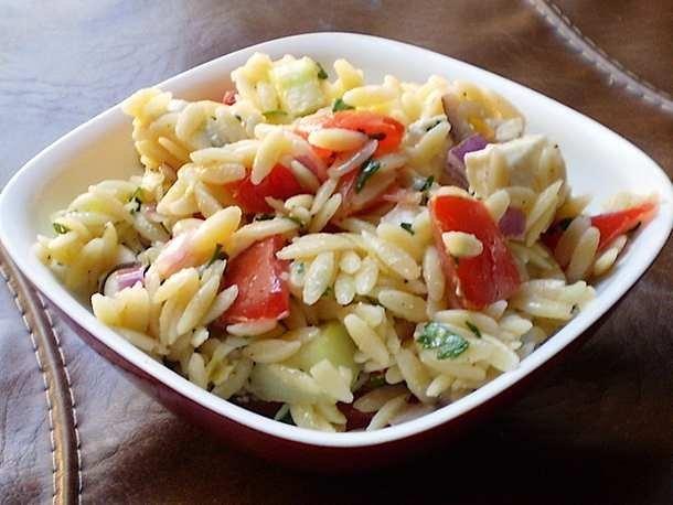 Para o verão: Salada de Arroz com Legumes