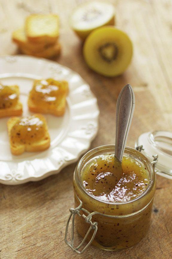 Cinco Quartos de Laranja: Doce de kiwi com maçã