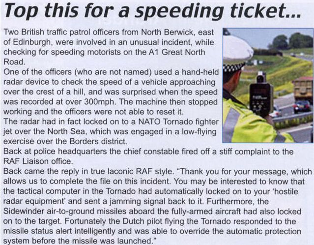 Brit radar jerks
