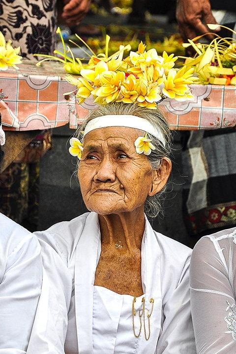 Bali Beautiful - Woman with Flowers