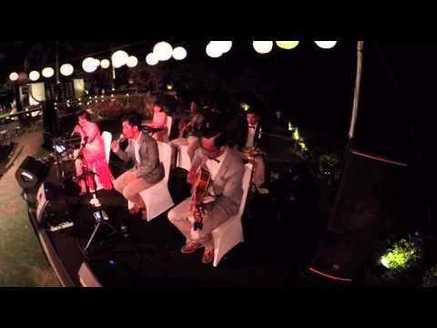 WEDDING BAND BALI - GLO Band Bali @ The Istana Villa, Uluwatu - YouTube