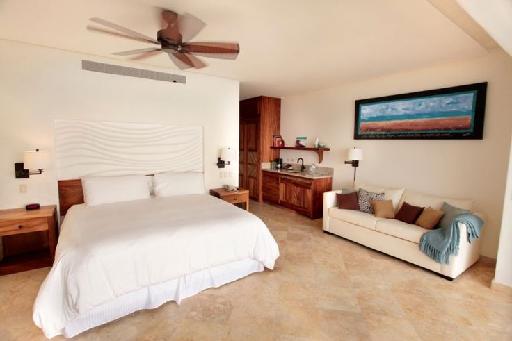 Hotel room expansion and new shore villas in Los Cabos, Mexico.