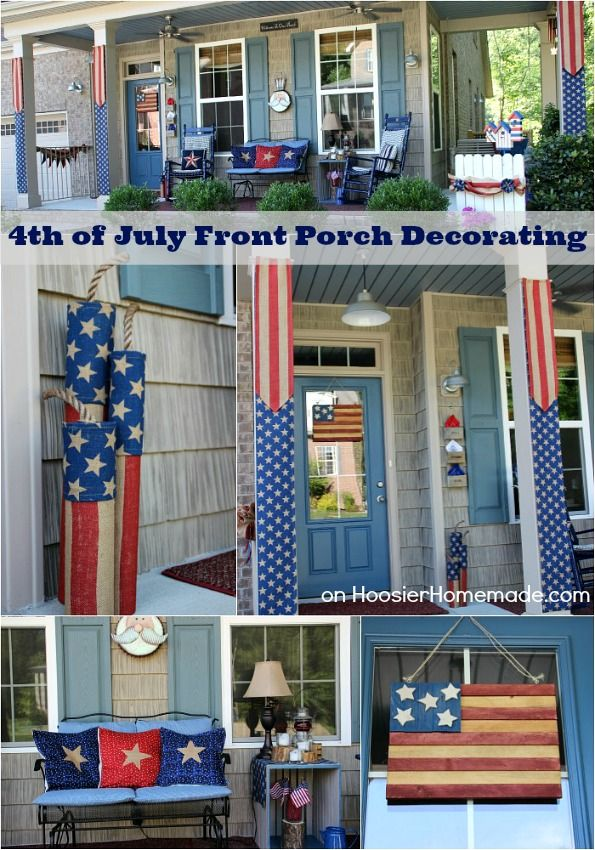 205 best patriotic porches images on pinterest