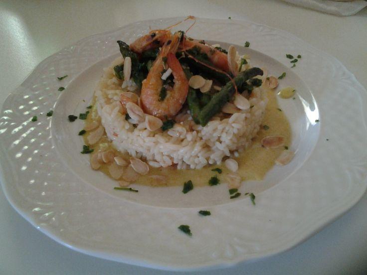 Scopri la mia ricetta sul contest Tigotà Ti Vizia: riso con gamberetti, salsa al curry e ananas e asparagi caramellati di giovanna sorano
