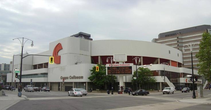Copps Coliseum Hamilton Ontario