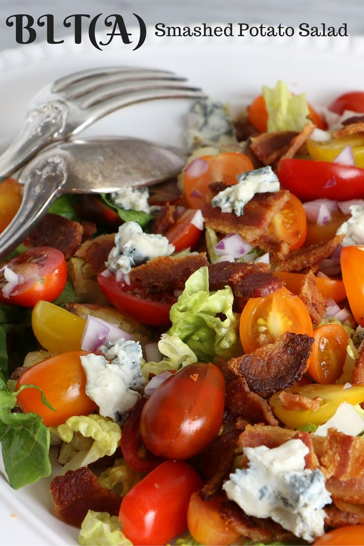 ... bacon, lettuce, tomato & avocado. Add a sprinkling of crumbled feta or