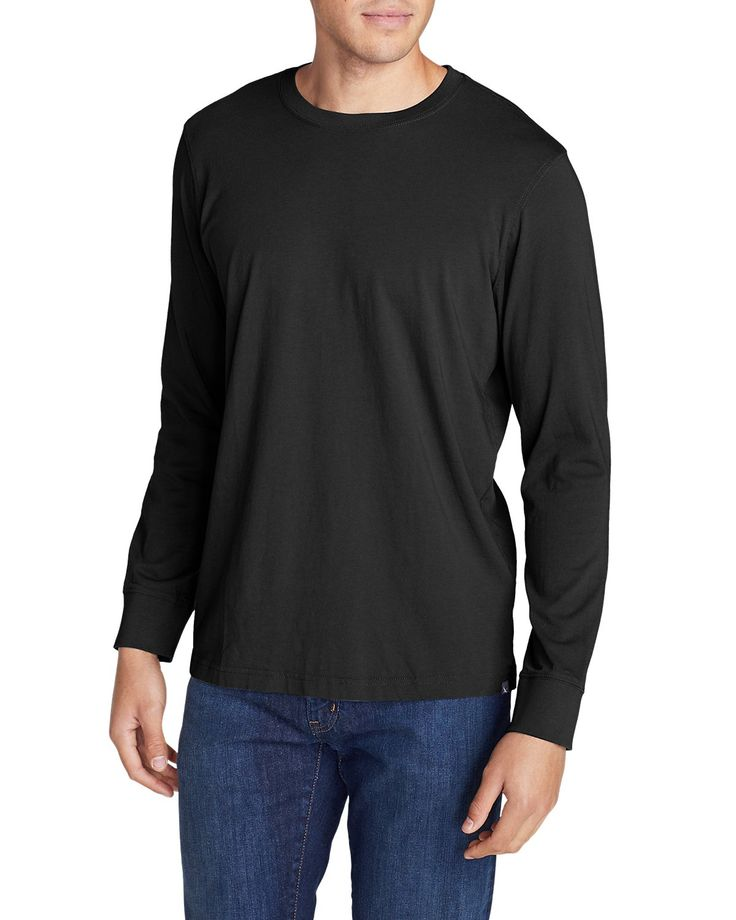 Men's Legend Wash Long-sleeve T-shirt - Classic Fit | Eddie Bauer
