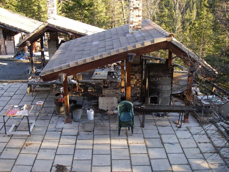 The Kiln shed at the Banff Center