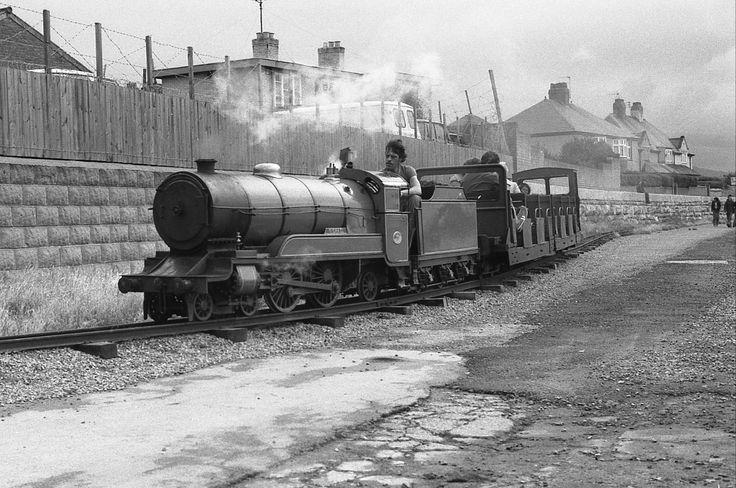 Rhyl mini railway...