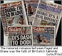 Princess Diana Dead after Paris Car Crash.  Shocking News for the world, their precious Princess dead!  She was only 36. We were in Azusa, taking our older son to his first year of college in August of 1997.