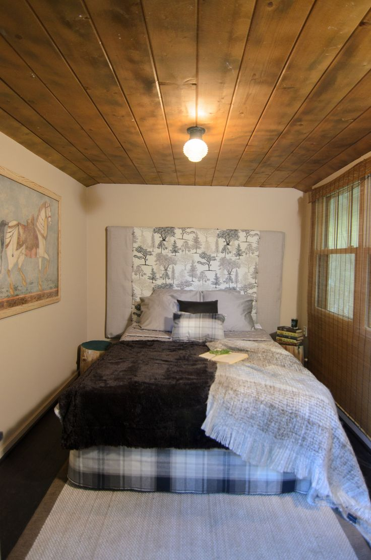Craftsman homes for american dream builders fans zillow blog - Check Out This Mountain Inspired Bedroom Dreambuilders Mountain Stylecabin Homesamerican