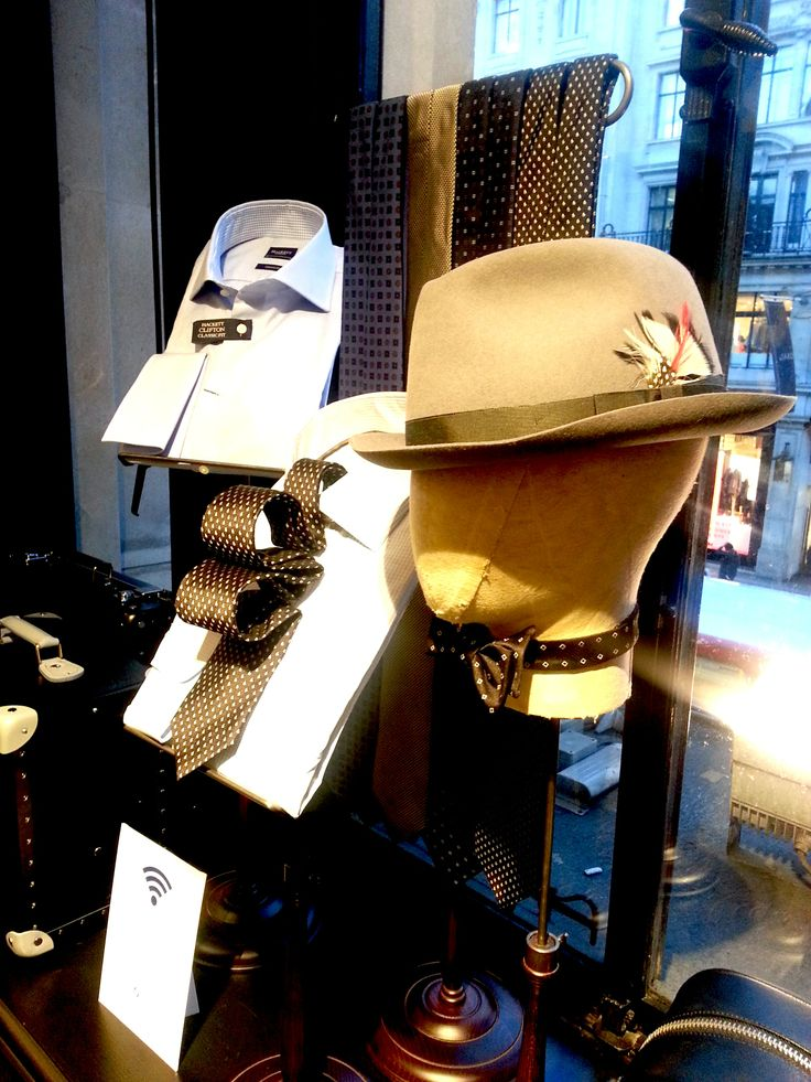 @Hackett London at their new flagship store on #RegentStreet. #Fashion.
