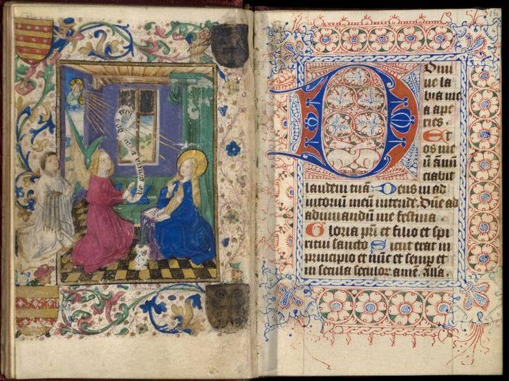Getijdenboek, Utrecht, Meester van Gijsbrecht van Brederode, ca. 1460 (Universiteitsbibliotheek Utrecht)