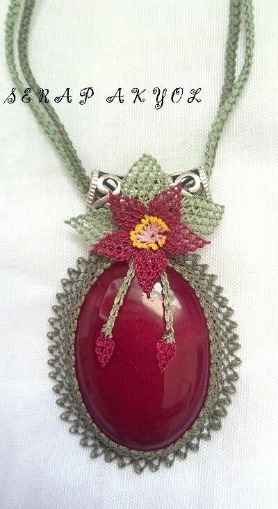 #kolye#necklace #iğne#iğneoyasıörnekleriigne oyasi ******