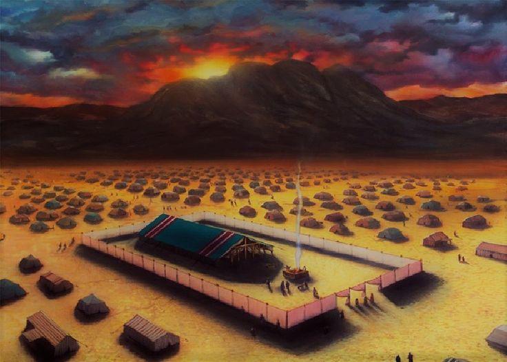 """Tuhan Keteraturan """"Tetapi Allah menuntun bangsa itu berputar melalui jalan di padang gurun menuju ke Laut Teberau. Dengan siap sedia berperang berjalanlah o"""