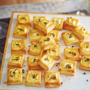 These canapés are the perfect savoury bites for a New Year's Eve party. They take just 35 minutes to prepare and can be made well in advance, so you can focus on having fun with your guests. | Tesco