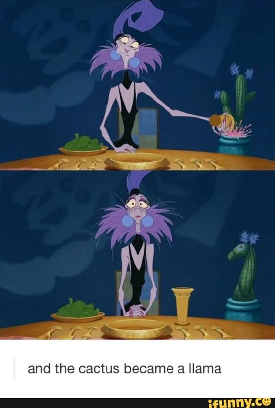 Emperor's New Groove; never noticed this before lol