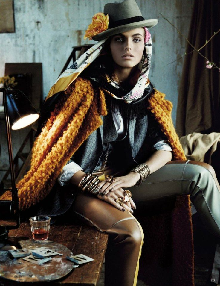 Karlina Caune- Vogue Germany for photographer Gianpaolo Sgura