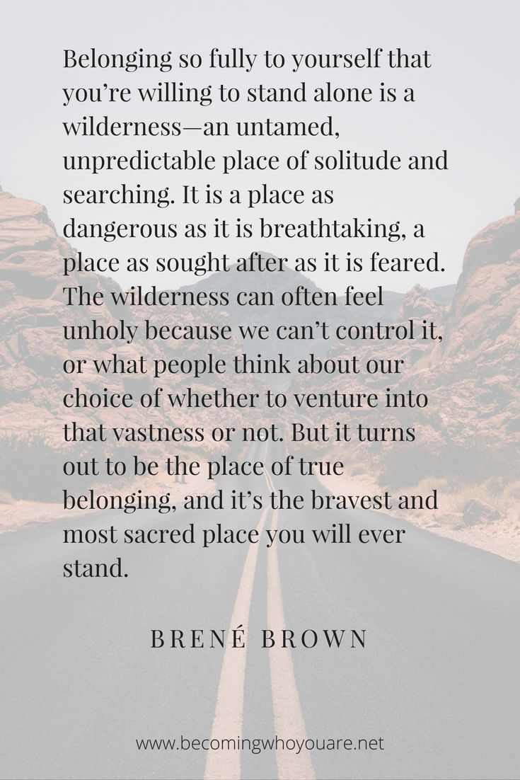 Click to read a review of Braving the Wilderness and discover more inspiring Brené Brown quotes