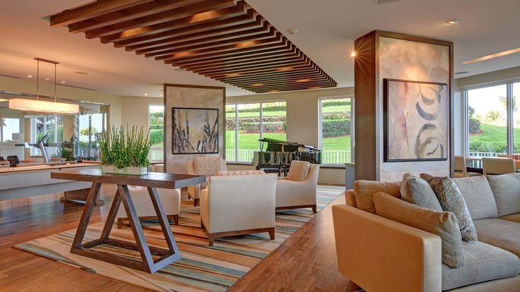 Residential lobby by Leighton Design Group!