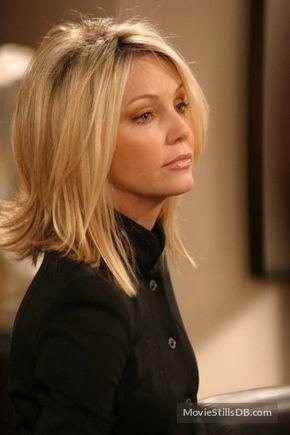 Medium blonde hairstyle