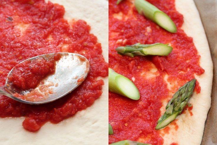 Pizza saus-Trines matblogg