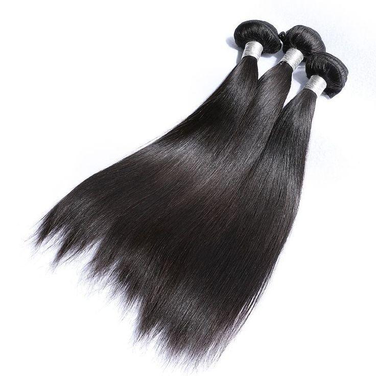 100% Human Hair, Silky Straight, Human Hair Bundles, Human Hair Weave, Human Hair Extension, 100g/Bundle