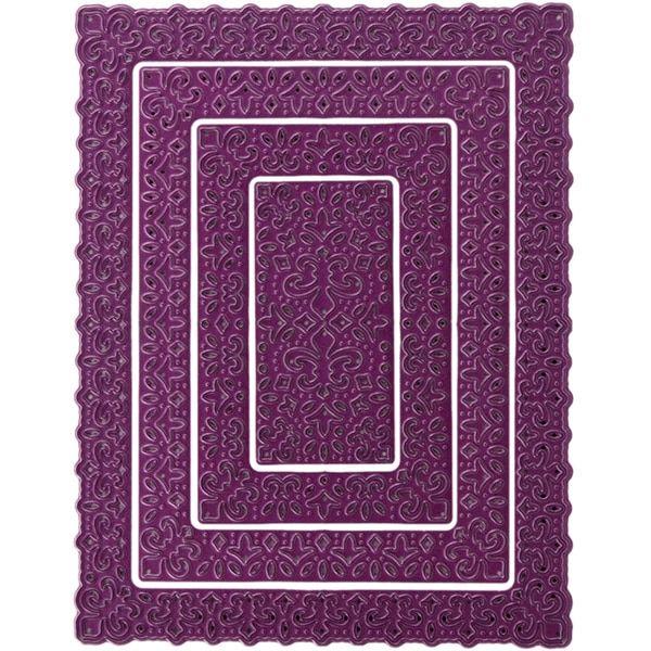 Cheery Lynn Designs Doily Die Fleur De Lis Boutique Stacker Frame ...