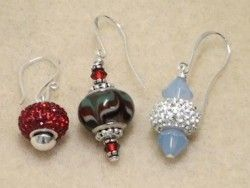 How to Make Earrings Using Pandora Style Beads (Item ID: 102018, End Time : N/A) - DIY Lessons - Learn Jewelry Making With Online Lessons, Videos and PDF Tutorials