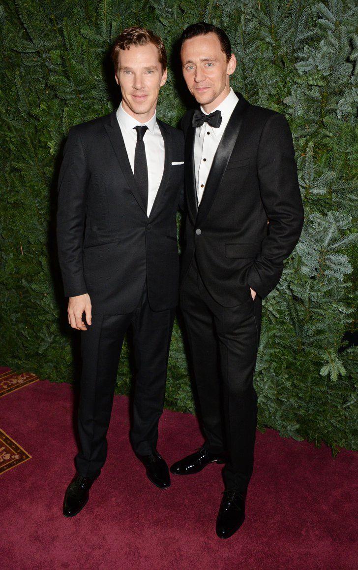Pin for Later: Wie groß sind die Stars wirklich? Benedict Cumberbatch = 183cm, Tom Hiddleston = 188cm