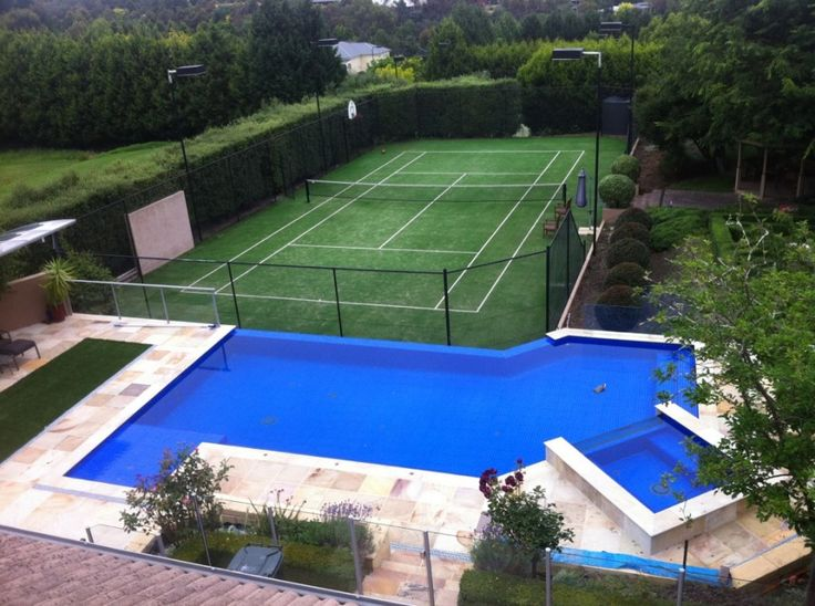 36 best images about tennis courts beauties on pinterest for Private swimming pool melbourne