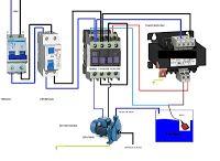 Esquemas eléctricos: motor bomba monofasica