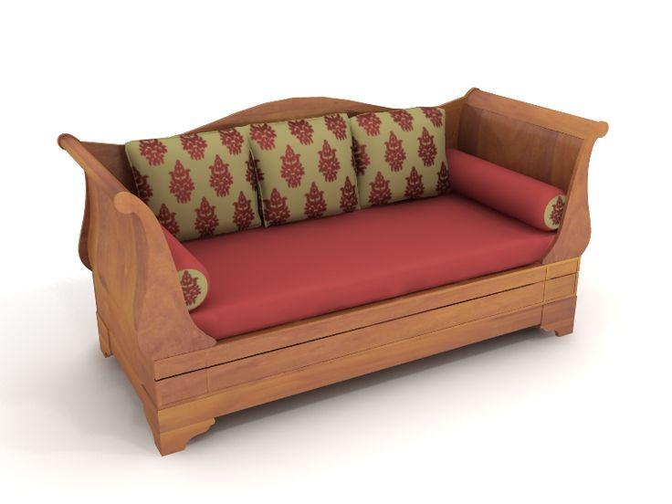 Modern Sectional Sofas Wooden Sofa
