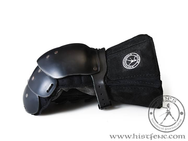 """Lobster"" Heavy Gloves - SPES Historical Fencing Gear"