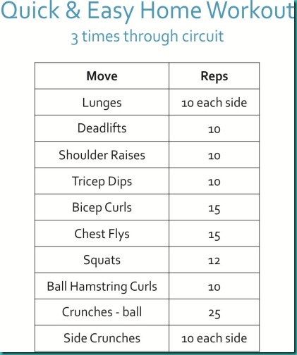 Easy workout plan for beginners gettin in shape pinterest Easy home design software for beginners