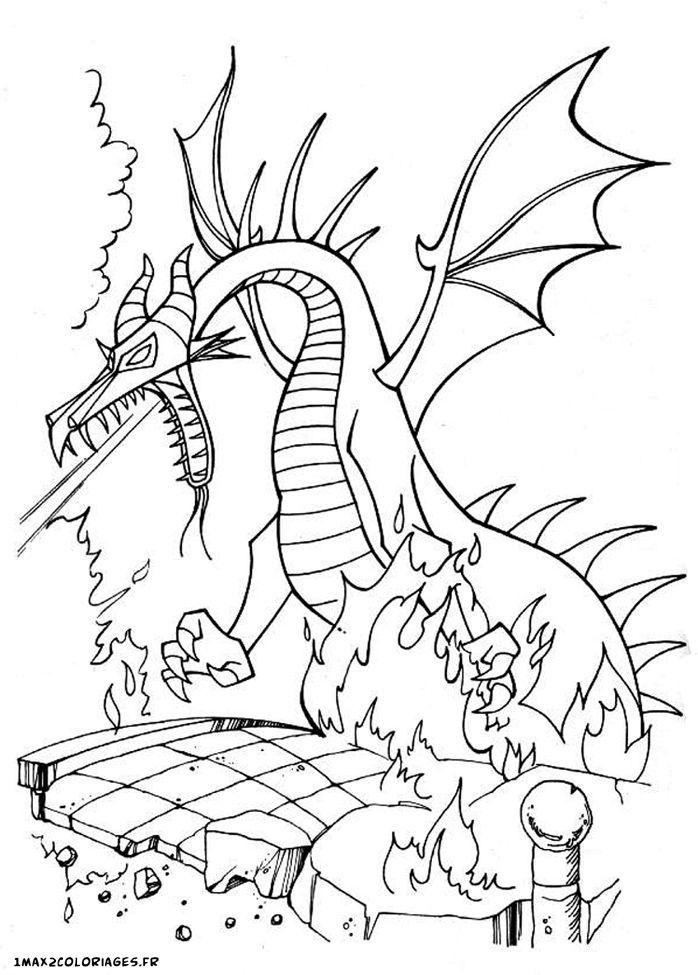 Maleficent Dragon Coloring Page Youngandtae Com Sleeping Beauty Coloring Pages Dragon Coloring Page Disney Coloring Pages