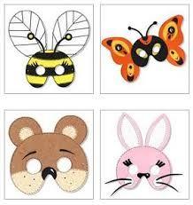 mascaras infantiles carnaval - Buscar con Google