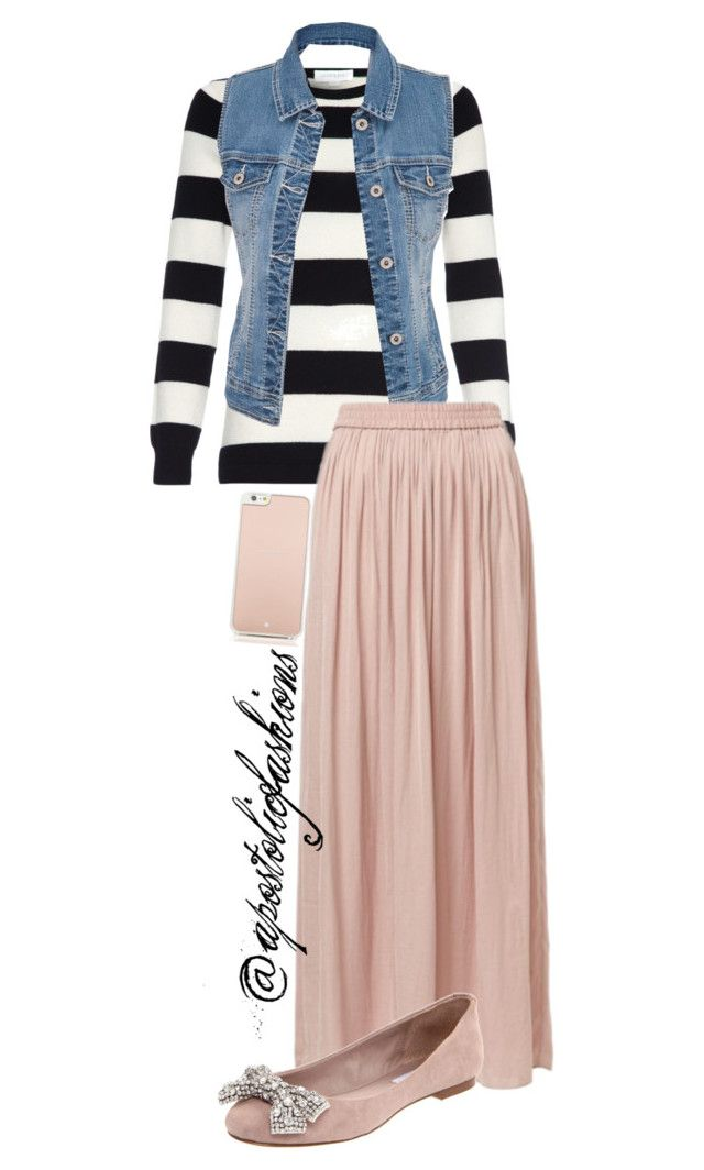 """""""Apostolic Fashions #977"""" by apostolicfashions ❤ liked on Polyvore featuring maurices, Steve Madden and Kate Spade"""