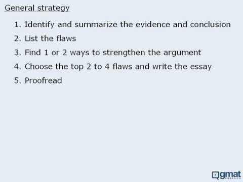 write argument essay gmat