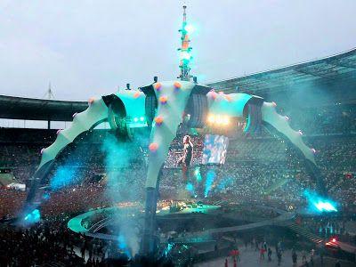 "U2 ""Space Ship"" at the Stade de France, Paris"