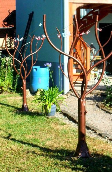 Tendoir linge arbre 1 pinteres for Entretien jardin narbonne