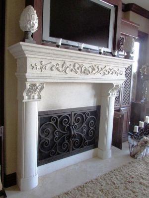 Rectangular Doors | Fireplace Door Guy | Custom Fireplace Screen Doors in California & Arizona