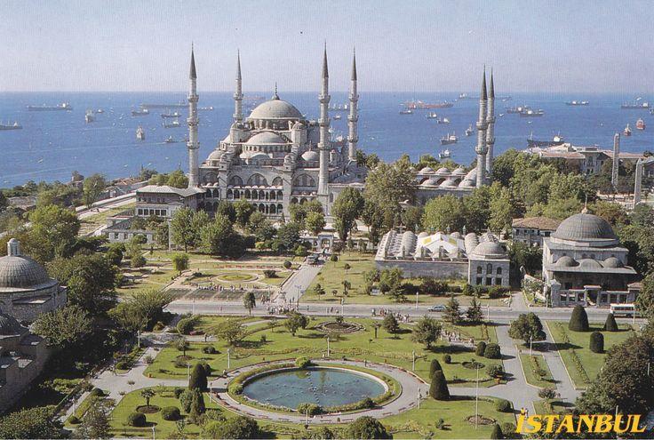 Istanbul - Postcard