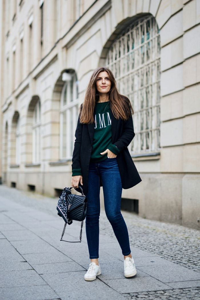 Moderne tenue de soirée decontractée tenue chic femme pantalon