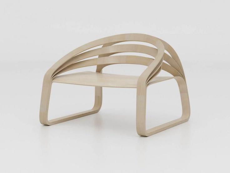 Bending wood. #forniture #design #wood