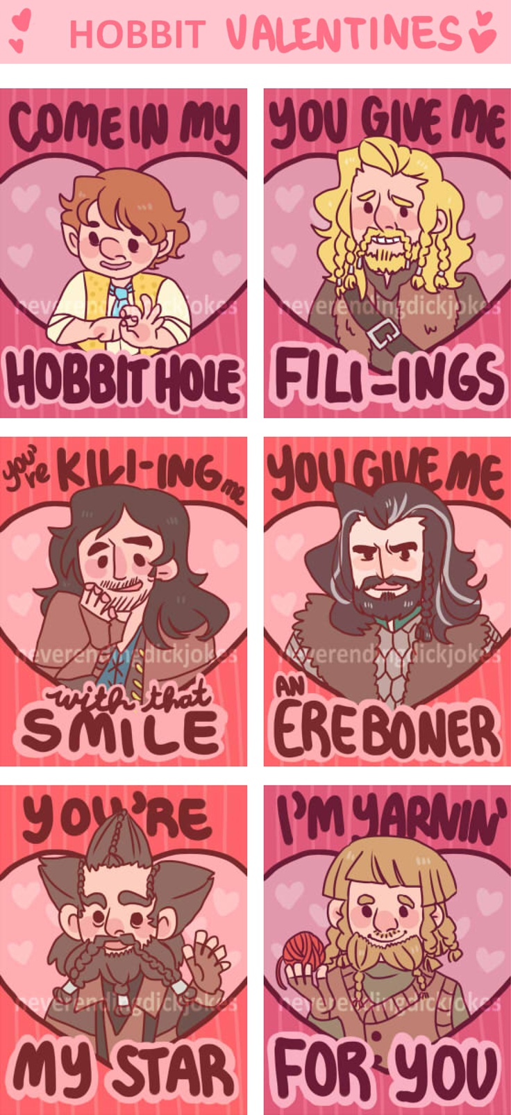 18 best Lord of the Rings Valentines images on Pinterest | Lord of ...