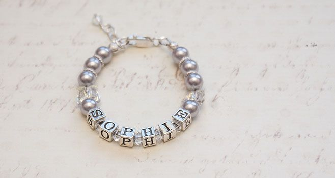 'Wings' Personalised Bracelet. Find it at www.giftedmemoriesjewellery.com.au